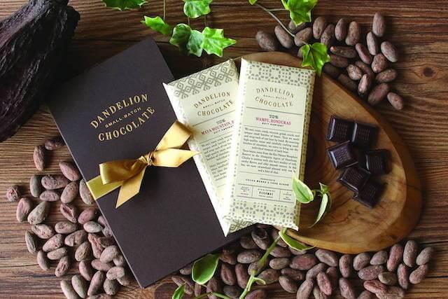 ダンデライオン・チョコレートのチョコレートバー
