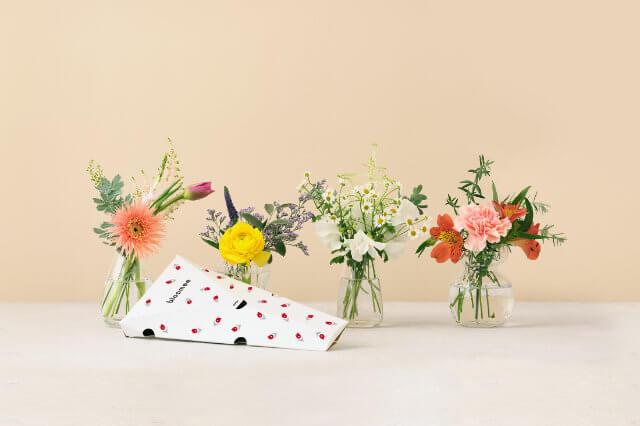 ブルーミーの花束